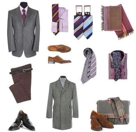 подбор по цветовой гамме мужского стиля